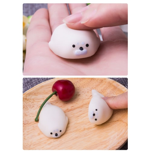 Colorful Adorable Cute Animal Hand Wrist Squeezing Fidget Toys Squishy Mini Stress Relief Squeeze Doll Slow Risng Venting BallToys &amp; Hobbies<br>Colorful Adorable Cute Animal Hand Wrist Squeezing Fidget Toys Squishy Mini Stress Relief Squeeze Doll Slow Risng Venting Ball<br>