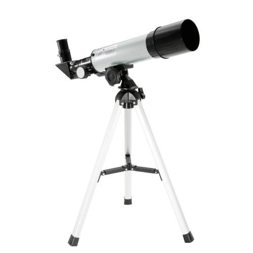 90X de potencia de vidrio óptico de aleación de aluminio terrestre y Sky Telescope