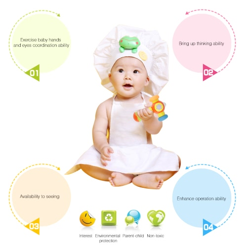 GOODWAY G104 Soft Knocking Hammer with Sound and Light Baby Toys Toddler Play Hammer Improve Babys Operation AbilityToys &amp; Hobbies<br>GOODWAY G104 Soft Knocking Hammer with Sound and Light Baby Toys Toddler Play Hammer Improve Babys Operation Ability<br>