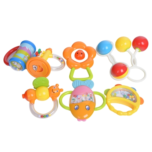 GOODWAY 3205 Baby Hand Rattles Kit Teether Bed Bell Toys Kids Happy Buddy Newborns GiftToys &amp; Hobbies<br>GOODWAY 3205 Baby Hand Rattles Kit Teether Bed Bell Toys Kids Happy Buddy Newborns Gift<br>