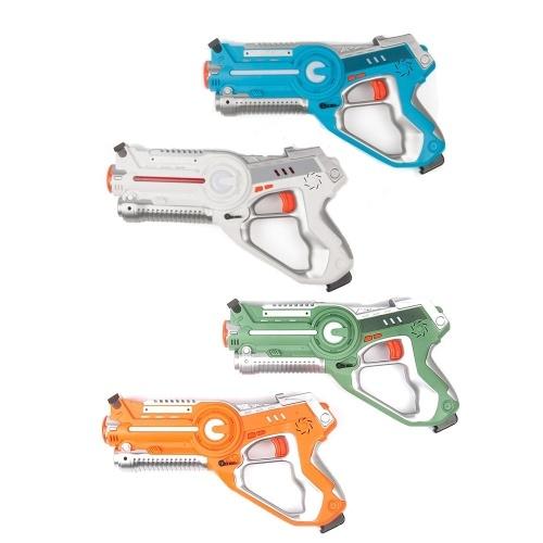 4Pcs Infrared Laser Tag Blaster Laser Battle Pack