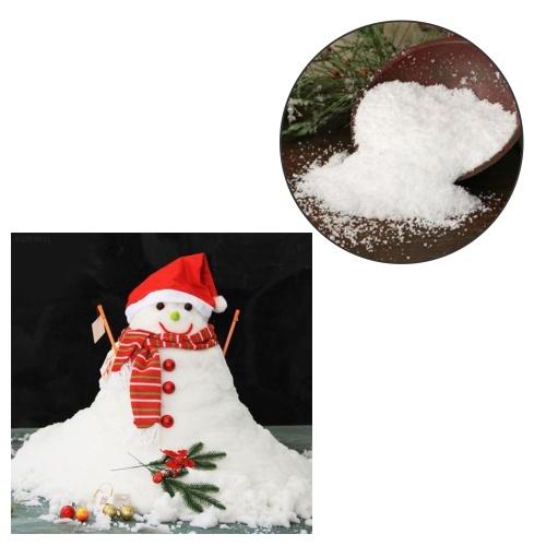 Flocos de neve falsificados artificiais mágicos do Natal