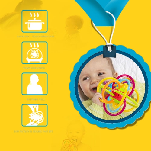 GOODWAY G105 Baby Rattles Ball Hand Teether Plastic Grasping Toy for Early EducationToys &amp; Hobbies<br>GOODWAY G105 Baby Rattles Ball Hand Teether Plastic Grasping Toy for Early Education<br>