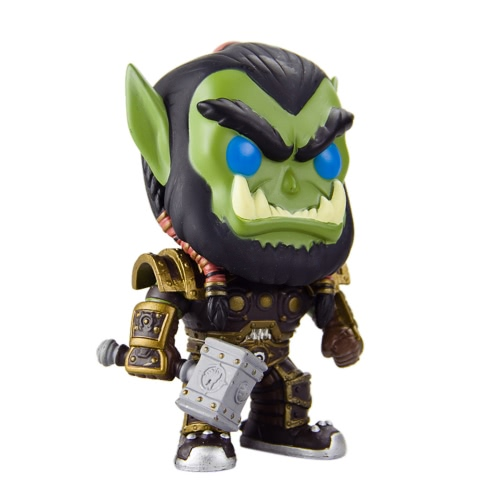FUNKO POP Game WOW Action Figure Vinyl Figure Model Ornaments - ThrallToys &amp; Hobbies<br>FUNKO POP Game WOW Action Figure Vinyl Figure Model Ornaments - Thrall<br>