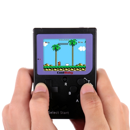 Pocket Handheld Console de jogos de vídeo 2.2in LCD 8 Bit Mini Game Player portátil Built-in 129 Games
