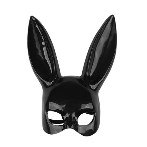 As orelhas de coelho longas mascaram o mascarada