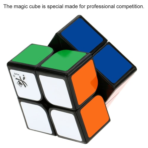 Dayan Zhanchi 2 * 2 Magic Cube Speed Cubo Anti-POP Structure 6 Color Solid Eco-friendly Plastics Stickerless Cube Puzzle ColorfulToys &amp; Hobbies<br>Dayan Zhanchi 2 * 2 Magic Cube Speed Cubo Anti-POP Structure 6 Color Solid Eco-friendly Plastics Stickerless Cube Puzzle Colorful<br>