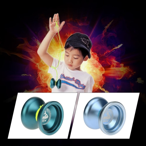Professional Magic Yoyo N12 Aluminum Alloy Metal Yoyo 8 Ball KK Bearing with Spinning String for Kids Lake BlueToys &amp; Hobbies<br>Professional Magic Yoyo N12 Aluminum Alloy Metal Yoyo 8 Ball KK Bearing with Spinning String for Kids Lake Blue<br>