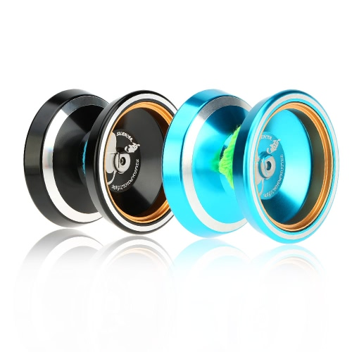 Professional Magic Yoyo M001 Aluminum Alloy Yo-yo CNC lathe T Bearing with Spinning String for Boys Girls Children Kids BlueToys &amp; Hobbies<br>Professional Magic Yoyo M001 Aluminum Alloy Yo-yo CNC lathe T Bearing with Spinning String for Boys Girls Children Kids Blue<br>