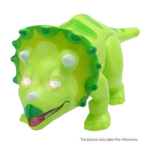 Cute Cartoon Walking Dinosaur Electric Dinosaur Light Up Toy Figure with Sounds &amp; Real Movement &amp; LED BlueToys &amp; Hobbies<br>Cute Cartoon Walking Dinosaur Electric Dinosaur Light Up Toy Figure with Sounds &amp; Real Movement &amp; LED Blue<br>