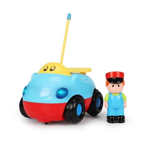 Mini Cute Cartoon Remote Control RC Racing Toy