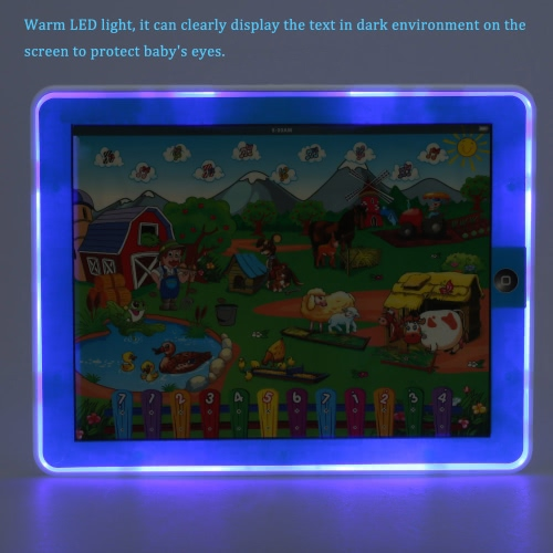 Y-Pad Touch Screen Pad Childrens Funny Farm Tablet Machine Computer Laptop Educational Toy for Baby KidsToys &amp; Hobbies<br>Y-Pad Touch Screen Pad Childrens Funny Farm Tablet Machine Computer Laptop Educational Toy for Baby Kids<br>