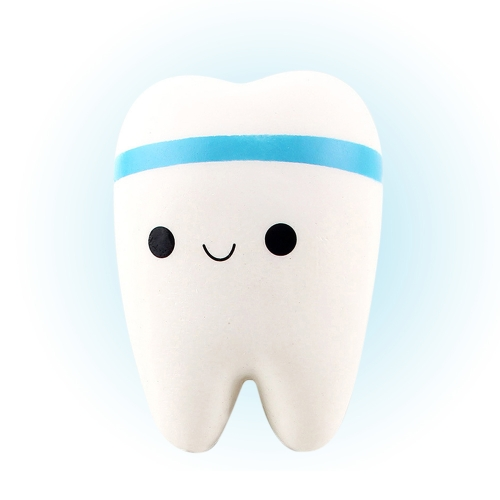 Cute Cartoon Teeth Soft PU Squishy Tooth Stress Relief Toys Slow Rising Hand Kawaii Squeeze Toy Adorable Gift BlueToys &amp; Hobbies<br>Cute Cartoon Teeth Soft PU Squishy Tooth Stress Relief Toys Slow Rising Hand Kawaii Squeeze Toy Adorable Gift Blue<br>