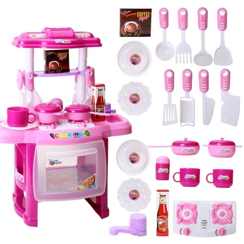 Electronic Kitchen Cooking Toys