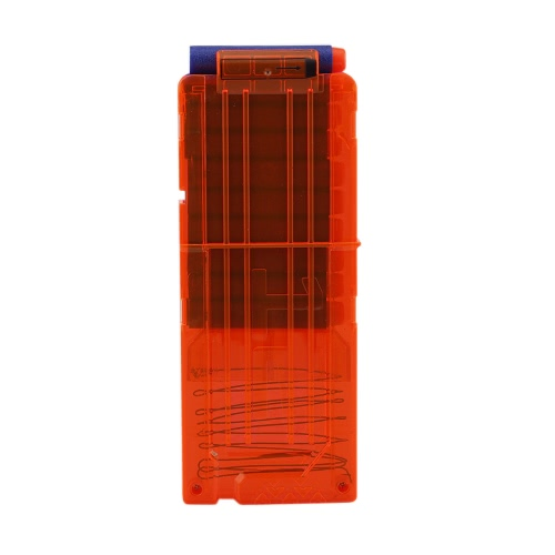 12 Quick Reload Clip Magazines Round Darts Replacement Plastic Toy Gun Carrier Soft Bullet Trasparent Storage Clips for Nerf N-StrToys &amp; Hobbies<br>12 Quick Reload Clip Magazines Round Darts Replacement Plastic Toy Gun Carrier Soft Bullet Trasparent Storage Clips for Nerf N-Str<br>