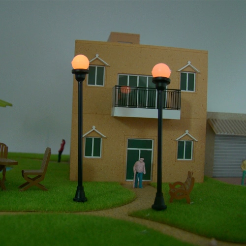 Model Garden Lamps (Single Head) 1:100Toys &amp; Hobbies<br>Model Garden Lamps (Single Head) 1:100<br>