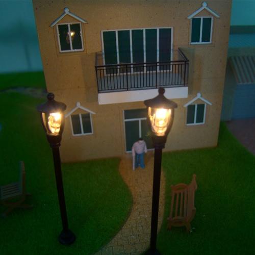 Model Single Head Garden Lamps 1:100Toys &amp; Hobbies<br>Model Single Head Garden Lamps 1:100<br>