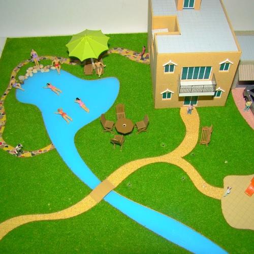 Painted Model Beach People (1:75)Toys &amp; Hobbies<br>Painted Model Beach People (1:75)<br>