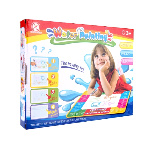 Kids Drawing Magic Water Mat 1 Set 50 * 50cm Multi-color Aqua Doodle Mat with 1 Pen + 1 Painting ModelToys &amp; Hobbies<br>Kids Drawing Magic Water Mat 1 Set 50 * 50cm Multi-color Aqua Doodle Mat with 1 Pen + 1 Painting Model<br>