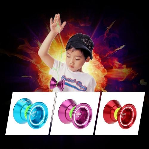 Professional Magic Yoyo N5 Desperado Aluminum Alloy Metal Yoyo 8 Ball KK Bearing with Spinning String for Kids PurpleToys &amp; Hobbies<br>Professional Magic Yoyo N5 Desperado Aluminum Alloy Metal Yoyo 8 Ball KK Bearing with Spinning String for Kids Purple<br>