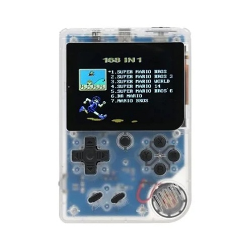 Handheld Game Console 3 Inch w/ 168 Games