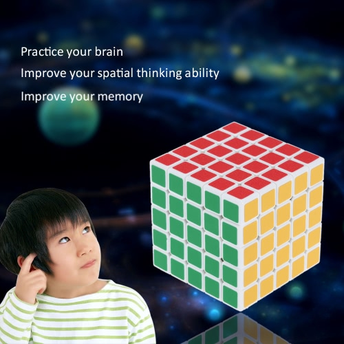 Original Shengshou 5 * 5 * 5 Magic Cube Speed Cube ABS Ultra-smooth Cubo Puzzle Matte Sticker Twist Educational Toy Black GroundToys &amp; Hobbies<br>Original Shengshou 5 * 5 * 5 Magic Cube Speed Cube ABS Ultra-smooth Cubo Puzzle Matte Sticker Twist Educational Toy Black Ground<br>