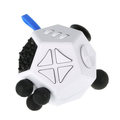 12 Sides Fidget Cube Stress Anxiety Relief Desk Pocket Attention Toy for Children and AdultsToys &amp; Hobbies<br>12 Sides Fidget Cube Stress Anxiety Relief Desk Pocket Attention Toy for Children and Adults<br>