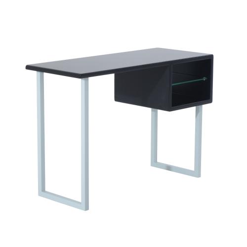 Contemporary Writing Desk - BlackHome &amp; Garden<br>Contemporary Writing Desk - Black<br>