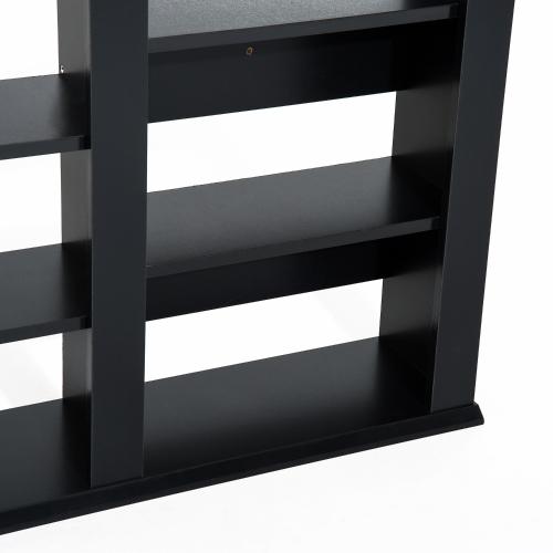 Wall Mount CD / DVD Media Storage Shelf Rack - BlackHome &amp; Garden<br>Wall Mount CD / DVD Media Storage Shelf Rack - Black<br>