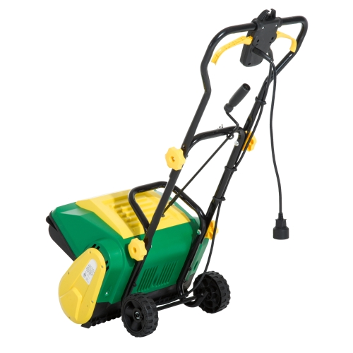 16-inch 9 Amp Electric Powered Snow Thrower w/WheelsHome &amp; Garden<br>16-inch 9 Amp Electric Powered Snow Thrower w/Wheels<br>