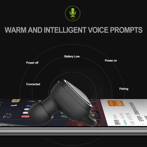 True Wireless Bluetooth In-ear Sport  Headphone with MicVideo &amp; Audio<br>True Wireless Bluetooth In-ear Sport  Headphone with Mic<br>