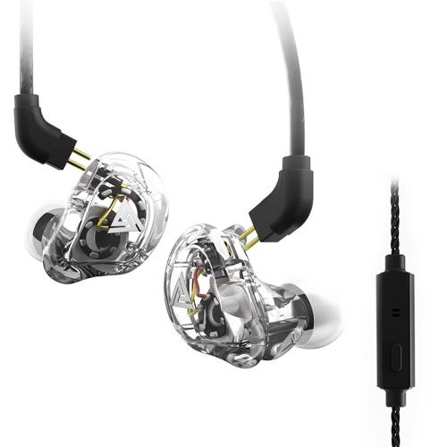 QKZ VK1 3.5mm écouteurs intra-auriculaires avec microphone