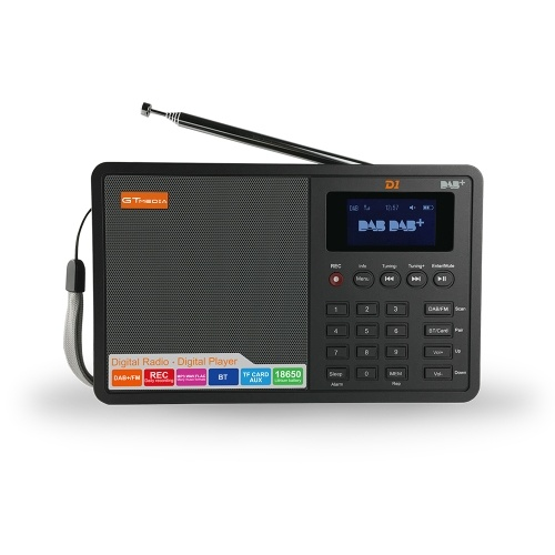 GTMEDIA D1 Portable Digital DAB+ FM Radio