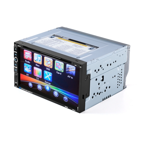 Car Radio Audio 2 Din 6.95 inch Digital Touch Screen Remote Control Multimedia Video DVD Player BT Handfree Rear View CameraVideo &amp; Audio<br>Car Radio Audio 2 Din 6.95 inch Digital Touch Screen Remote Control Multimedia Video DVD Player BT Handfree Rear View Camera<br>