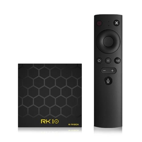 RK10 Android 7.1 TVボックス2.4GB音声リモコン付き2GB / 16GB