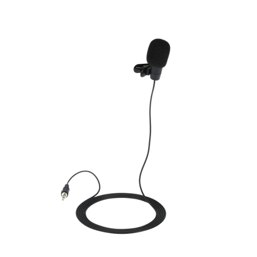 Portable  Collar Type Microphone 3.5 mm interface Hands-free Communication Microphone for all multimediaVideo &amp; Audio<br>Portable  Collar Type Microphone 3.5 mm interface Hands-free Communication Microphone for all multimedia<br>