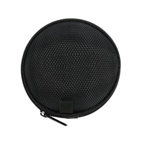 Andoer casque Box Mini portable MP3 case écouteurs et étui de casque portable sac pochette avec crochet chaîne en métal