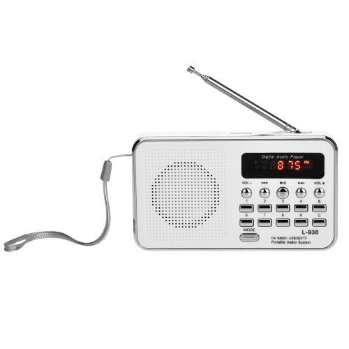 L-938 Mini Portable Digital FM RadioVideo &amp; Audio<br>L-938 Mini Portable Digital FM Radio<br>