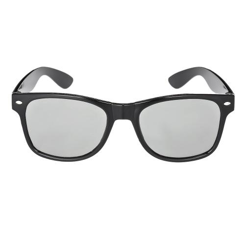 P17 Gafas 3D pasivas Lentes polarizadas circulares para TV polarizada Cines 3D real D para Sony Panasonic