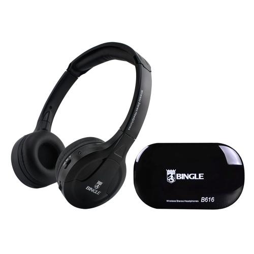 Casque d'écoute sans fil multifonction BINGLE B616 d'origine avec émetteur