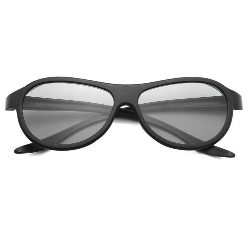 VQ183R Gafas 3D Gafas pasivas polarizadas D reales para LG TCL Samsung SONY 3D Cinema TV