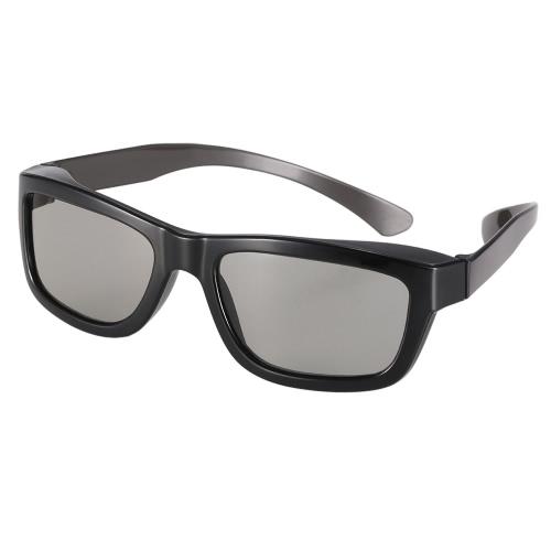 Óculos 3D passivos Lentes Polarizadas Circulares para TV Polarizada Real D 3D Cinemas para Sony Panasonic