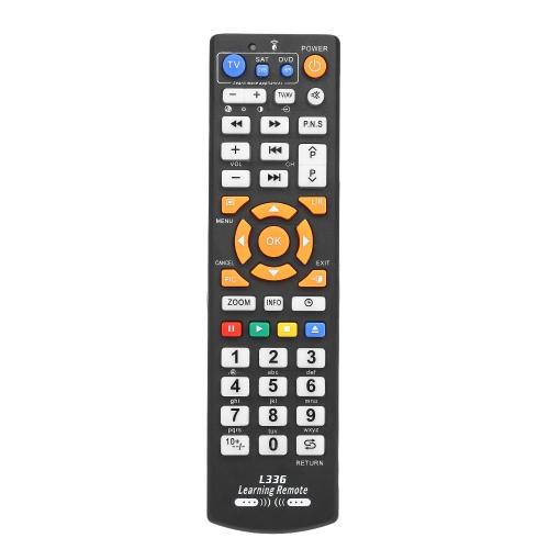 ユニバーサルTVリモコンワイヤレススマートコントローラ交換機能付きスマートテレビ用CBL DVDブラック