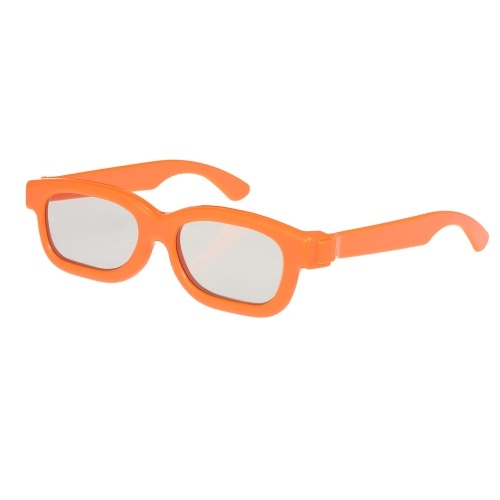 C02CP Passiva Óculos 3D Lentes Circulares Polarizadas para TV Polarizada Real D 3D Cinemas para Sony Panasonic para Crianças