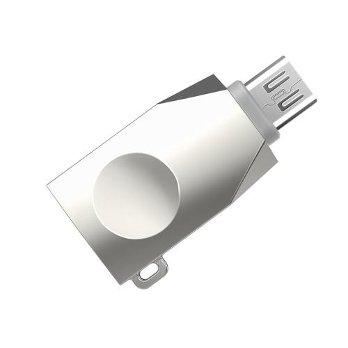 ホコ。 UA10マイクロUSBからUSB 3.0 OTGアダプタ亜鉛合金コネクタマイクロUSB OTGコンバータ充電データ転送男性から女性