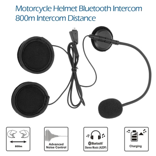 F1 Motorcycle Helmet Bluetooth Intercom Wireless Interphone with Headphone 800m Intercom Distance Hands-free with Mic for Smart PhVideo &amp; Audio<br>F1 Motorcycle Helmet Bluetooth Intercom Wireless Interphone with Headphone 800m Intercom Distance Hands-free with Mic for Smart Ph<br>