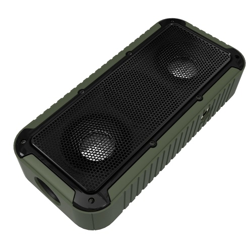 New Bee NB-S1 Outdoor Bluetooth Speaker CSR 4.0 Water-proof / Shock-proof / Dust-proof Sound Box AUX IN Hands-free Army GreenVideo &amp; Audio<br>New Bee NB-S1 Outdoor Bluetooth Speaker CSR 4.0 Water-proof / Shock-proof / Dust-proof Sound Box AUX IN Hands-free Army Green<br>