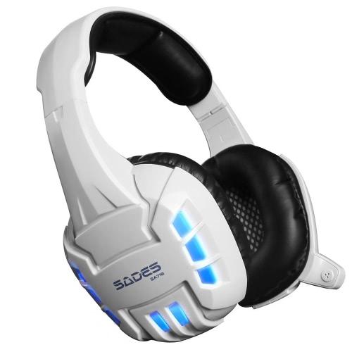 SADES SA718S USB Gaming Headset with LED LightsVideo &amp; Audio<br>SADES SA718S USB Gaming Headset with LED Lights<br>