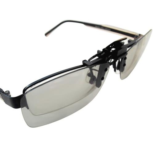 CL01 Clip-on Passivo 3D Óculos Lentes Circulares Polarizadas para TV Polarizada Real D 3D Cinemas para Sony Panasonic