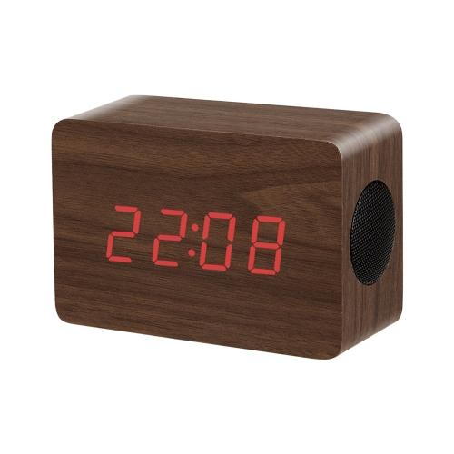 Wooden Wireless Bluetooth Speaker BrownVideo &amp; Audio<br>Wooden Wireless Bluetooth Speaker Brown<br>
